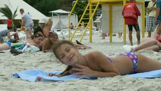 Review of beaches. Odessa. 10 station. - Video