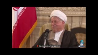 Rafsanjani says he was a wrestler - Video