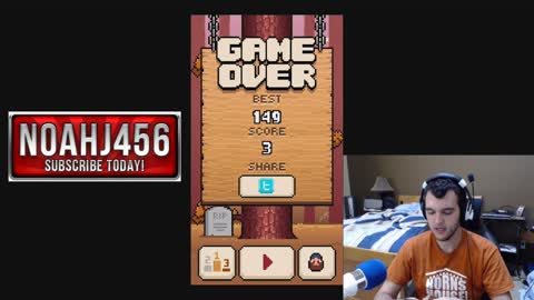Timberman - App review and gameplay