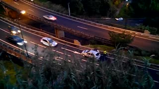 Highway Accident in Madeira - Video