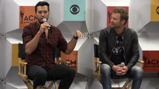 Luke Bryan talks about hosting the ACM Awards | Rare Country - Video