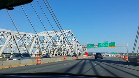 Crossing New Abraham Lincoln Bridge KY/IN