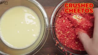 How To Make Flamin' Hot Cheetos Grilled Cheese - Full Recipe - Video