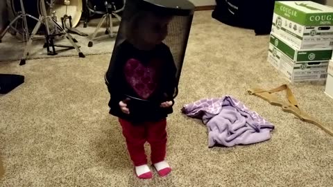 Toddler in Cage