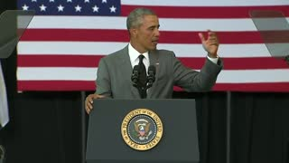 Obama: U.S. has best economic cards amid 'volatile few weeks' - Video
