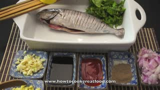 Asian Food - Easy Whole Fish BBQ or Baked Recipes - Video