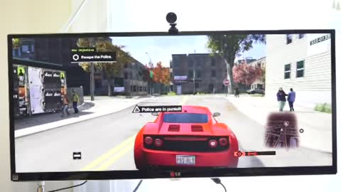 Playing 'Watchdogs' with 1440p resolution