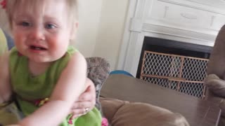 Kate Plays Peek a Boo - Video
