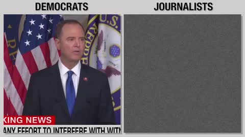 Media and Democrats use same talking points