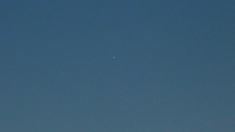 Venus and Mercury in the sky time lapse