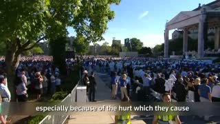 Pope presides over Canonization Mass in Washington - Video