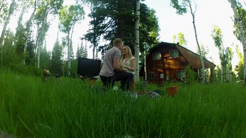 Couple's Picnic Turns Into Awesome Surprise Proposal