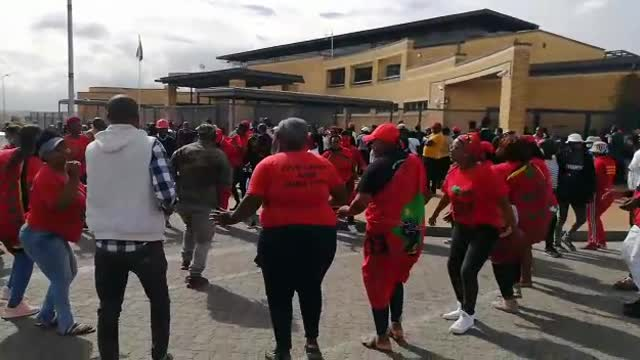 WATCH: EFF members arrested at Brackenfell protest released on warning - IOL