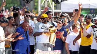 LeBron James Staying with Cleveland Cavaliers - Video