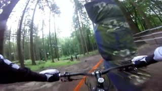 Helmet pov mtb fade to grey comp - Video