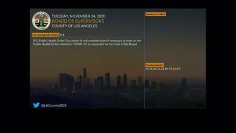 Los Angeles County Health Officials Explain Decision To Shutdown Outdoor Dining