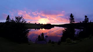 Spectacular Sunset Time-Lapse From Prince Edward Island - Video