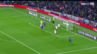 Gol de Leo Messi vs Sevilla - Video