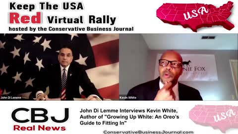 Kevin White Exposes How Blacks only Voted Barack Obama because He is Black..