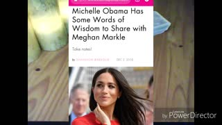 Meghan Markle + Michelle Obama