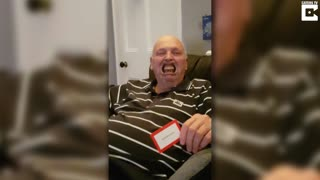 Grandad Loses Dentures During Speak Out Game - Video