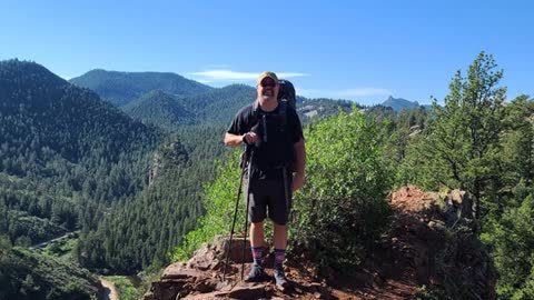 The Creative Liberty Podcast : Colorado Trail Hiker : Mike Burkett
