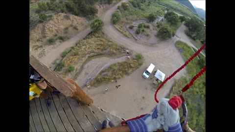 Man jumps off 70 foot tower