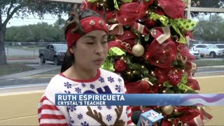 Texas First Grader Wrote a Letter to Santa - Video