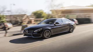 MERCEDES-BENZ C450 - 2016 MERCEDES-BENZ C450 AMG 4MATIC FIRST DRIVE REVIEW #Auto_HDFr - Video