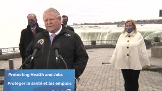 """Doug Ford Says He """"Won't Hesitate"""" To Cancel AstraZeneca Vaccinations"""