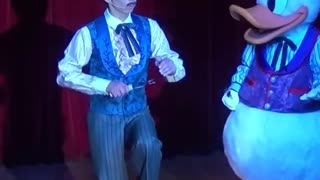 Duck Master Shows His talent on stage