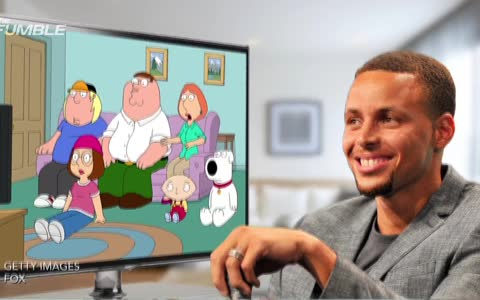 Steph Curry & Rob Gronkowski Are In 'Family Guy'