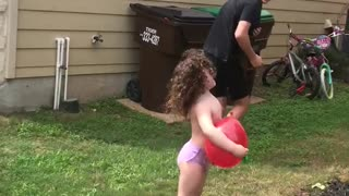 Parents Fool Kids with Water Balloon Gag