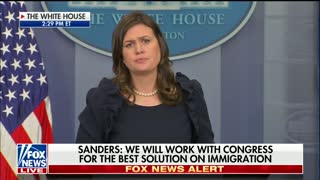 Reporter Asks What the 'White House Message' Is On DREAMers — Her Response: 'Storm Capitol Hill' - Video