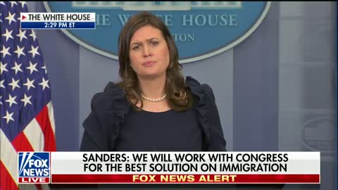 Reporter Asks What the 'White House Message' Is On DREAMers — Her Response: 'Storm Capitol Hill'