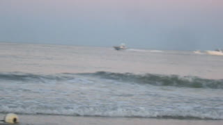 BOATS AT BRADLEY BEACH - NJ New Jersey Shore Ocean View Travel - Video