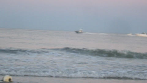 BOATS AT BRADLEY BEACH - NJ New Jersey Shore Ocean View Travel