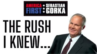 The Rush I knew...Mark Steyn on AMERICA First with Sebastian Gorka