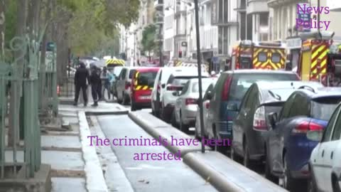 The arrest of two attackers in the Paris accident