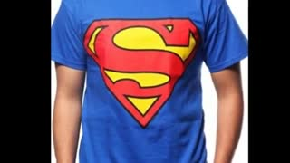 Superman Printed Maroon Colour T Shirts - Video