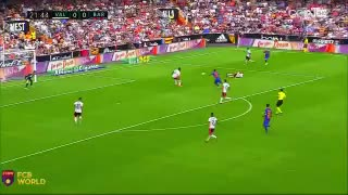 Leo Messi goal vs Valencia - Video