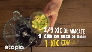 Smoothie de abacate e manga - Video