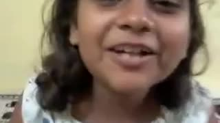 Funny Indian Kid Talking English  - Video