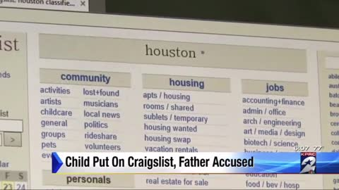 Man Who Tried to Sell His 4-Year-Old Daughter on Craigs List Convicted for His Actions