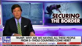 Tucker on 'Shithole': 'Almost Every Single Person in America Actually Agrees With' - Video