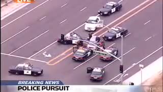 Crazy Police Pursuit... This One Could Use Some Benny Hill Music...