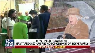 Harry and Meghan no longer official royal