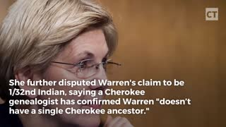 Actual Cherokee Woman Unloads on Elizabeth Warren - Video