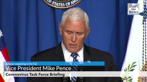 Pence: 'Absolutely essential' that schools reopen in the fall