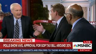 Chris Matthews Doesn't Understand Why Americans Are Cheering GOP Tax Cuts - Video